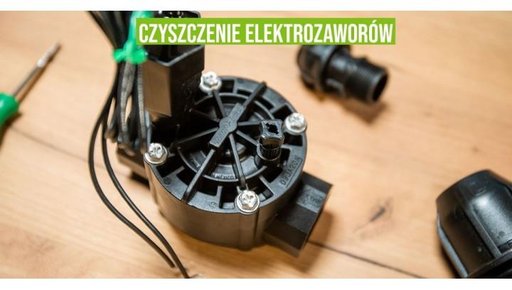Czyszczenie elektrozaworów